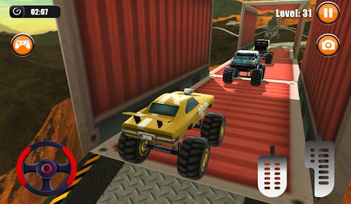 Ultimate Monster Truck: 3D Stunt Racing Simulator apkpoly screenshots 4