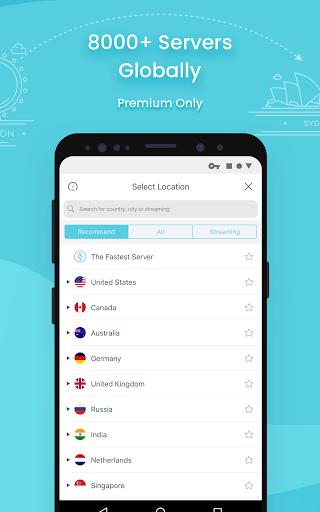 X-VPN - Free VPN proxy master & private browser apktram screenshots 2
