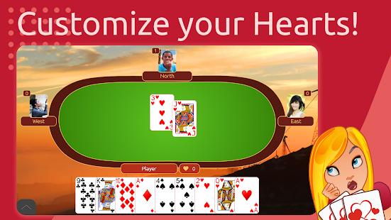 Hearts Deluxe - Kostenloses Kartenspiel