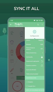 Monefy Pro - App de control de gastos e ingresos Screenshot