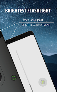 Color LED Flashlight Selene & FLASH