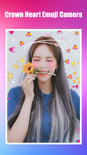 Crown Heart Emoji Camera 1.3.2 Screenshots 1