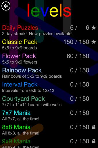 Flow Free: Hexes 2.7 screenshots 4