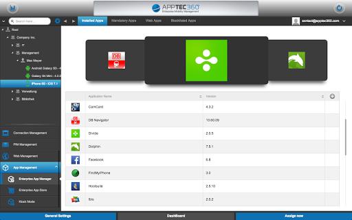 AppTec MDM Agent 20203816 Screenshots 5