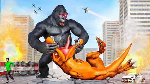 Angry Dinosaur Attack Dinosaur Rampage Games  screenshots 3