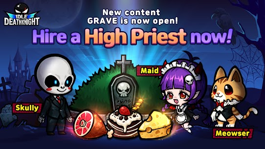 IDLE Death Knight – afk, rpg, clicker games Apk Mod + OBB/Data for Android. 10