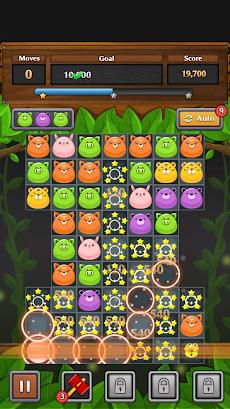 ジャングル マッチ パズルのおすすめ画像1