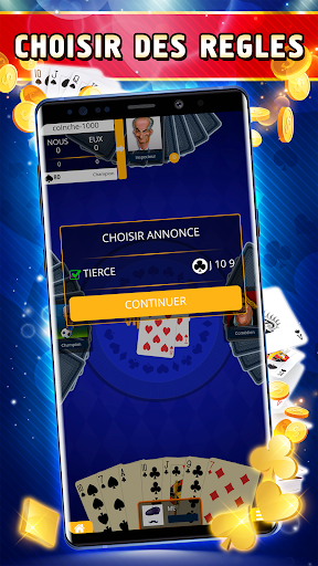 Coinche Offline - Single Player Card Game  screenshots 3