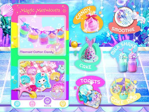Unicorn Chef: Mermaid Cooking Games for Girls 2.2 screenshots 12