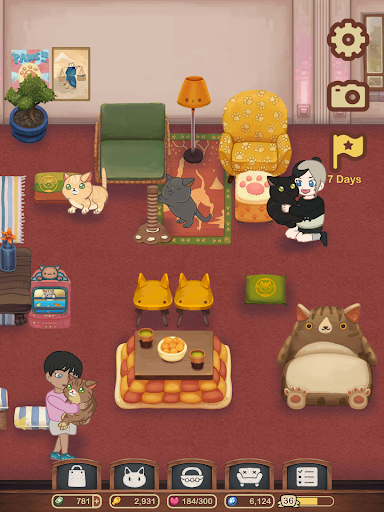 Furistas Cat Cafe - Cute Animal Care Game 2.700 screenshots 15
