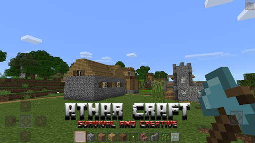 Athar Craft - Survival and Creative Building  screenshots 11