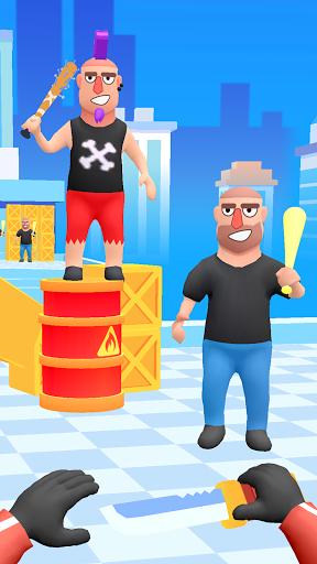 Code Triche Hit Master 3D : art du couteau APK MOD (Astuce) screenshots 3