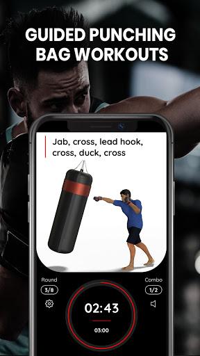 Punching Bag Workouts for Boxing and Kickboxing screenshot 1