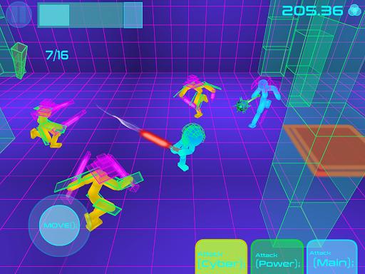 Stickman Neon Warriors: Sword Fighting screenshots 10
