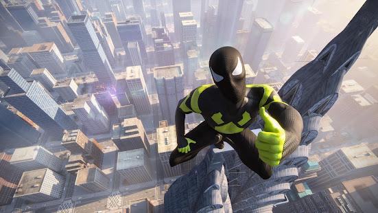 Rope Frog Ninja Hero - L'étrange gangster de Vegas screenshots apk mod 1