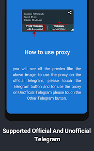 Proxy for Telegram   Free & Safe Mtproto proxy