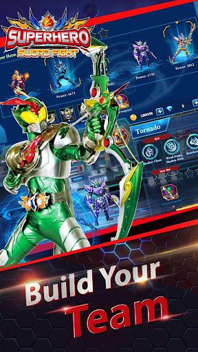 Superheroes Fight: Sword Battle - Action RPG screenshots 8