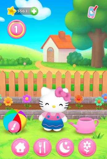 Talking Hello Kitty - Virtual pet game for kids screenshot 7