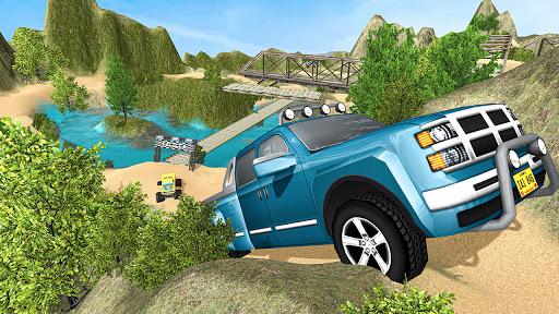 Off-Road Pickup Truck Hill Driving Simulator 2021  screenshots 3