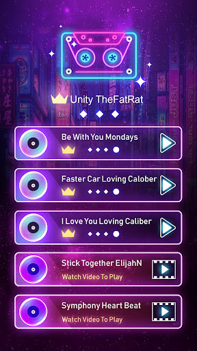 Tap Fever: EDM Dance Rush !! 1.2.0 Screenshots 4