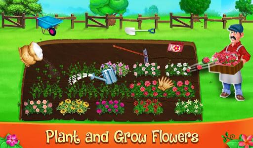 Code Triche Décoration de jardin et jeu de nettoyage (Astuce) APK MOD screenshots 2