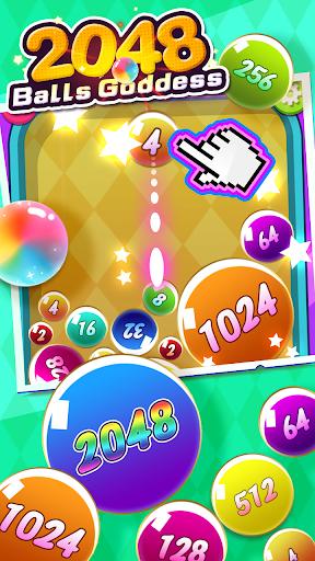 2048 Balls Goddess apkpoly screenshots 2