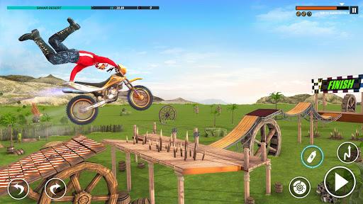 Vélo Cascade 2 Vélo Course Neuf Jeu - Moto Jeux APK MOD – Pièces de Monnaie Illimitées (Astuce) screenshots hack proof 2