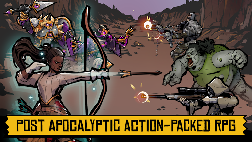 Days of Doomu2122 - Post-apocalyptic PvP RPG  screenshots 17