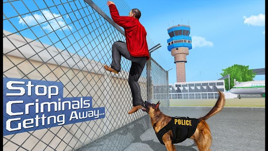 US Police Dog 2019: Airport Crime Shooting Game 3