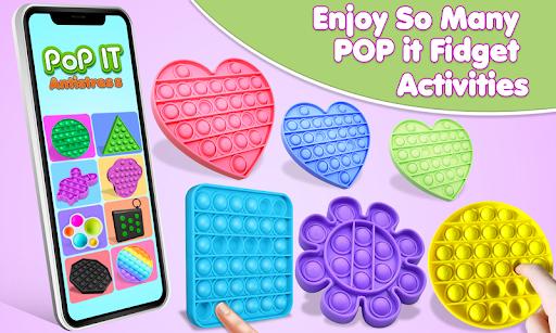 Pop It Fidget Toys Poke & Push Pop Waffle Fidgets 1.1 screenshots 1