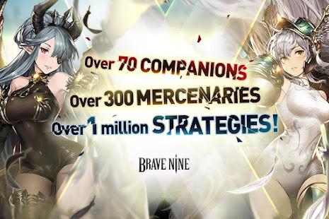 Mod Game Brave Nine - Tactical RPG for Android