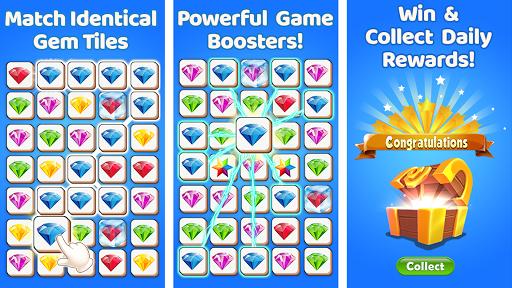 Gem Match 3d - Perfect Tile Matching Games 2020  screenshots 16