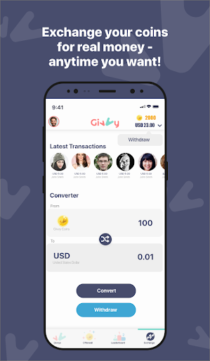 Earn money for Free with Givvy! modiapk screenshots 1