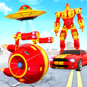 Flying Helicopter Car Ball Transform Robot Games
