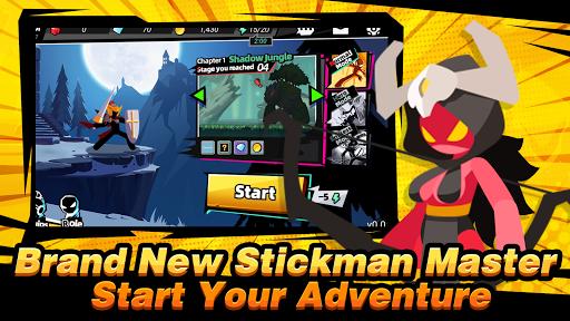 Stickman Master II: Dark Earldom androidhappy screenshots 1