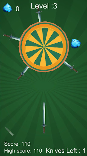 swipe knife: sling it, dart games screenshot 1