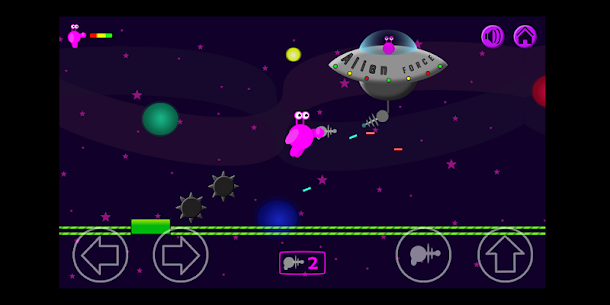 Ellien The Alien – Free Version Hack for iOS and Android 5