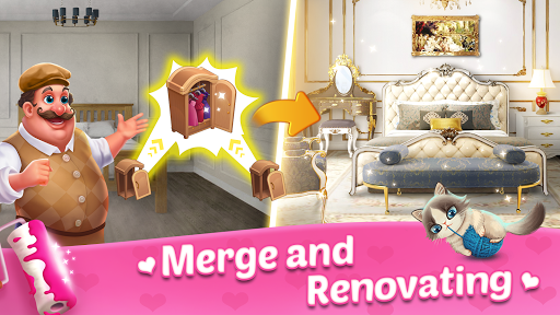 Merge Dream - Mansion design - Decorate your house android2mod screenshots 1