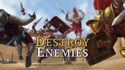 Gladiator Glory: Duel PVP Arena Fighting Warriors APK MOD – Pièces de Monnaie Illimitées (Astuce) screenshots hack proof 1
