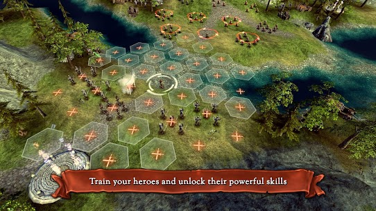 Hex Commander: Fantasy Heroes Mod Apk 5.1.1 (Unlimited Currency + Unlocked Race) 1