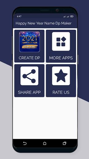Happy New Year Name Dp Maker 2021  Screenshots 1