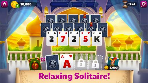 Solitaire Heaven - TriPeaks Journey Card Adventure  screenshots 1