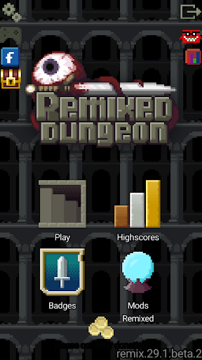 Remixed Dungeon: Pixel Art Roguelike 29.6.beta.8 screenshots 1