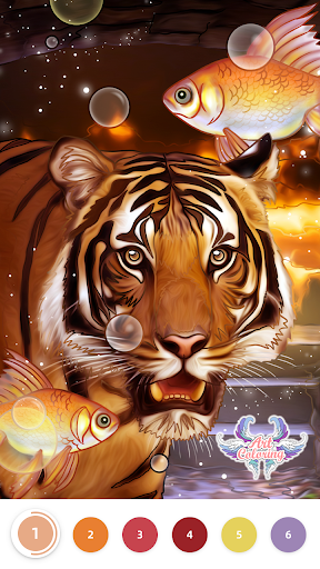 Art Coloring - Coloring Book & Color By Number 2.17.0 screenshots 7
