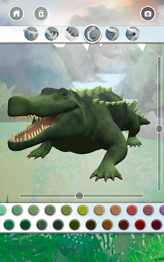 Dinosaurs 3D Coloring Book modavailable screenshots 22