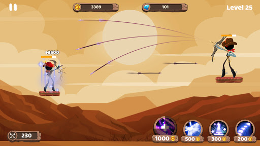 Mr. Archers: Archery game - bow & arrow 1.10.1 screenshots 4