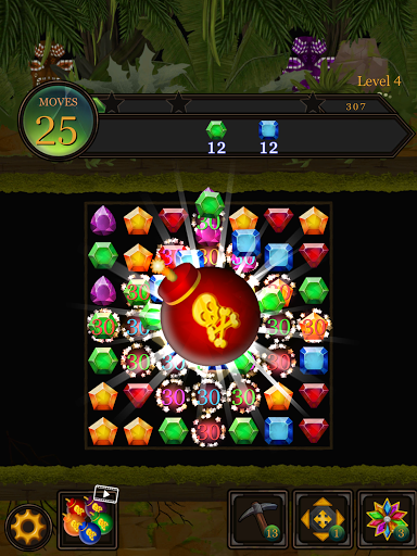Secret Jungle Pop : Match 3 Jewels Puzzle Apkfinish screenshots 19