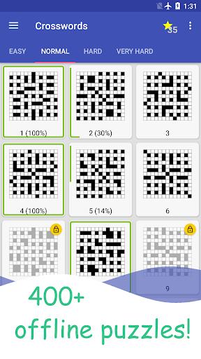 English Crossword puzzle 1.8.6 screenshots 2