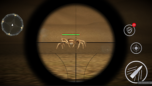 Monster Spider Shooting World Hunter -Spider Games screenshots 3