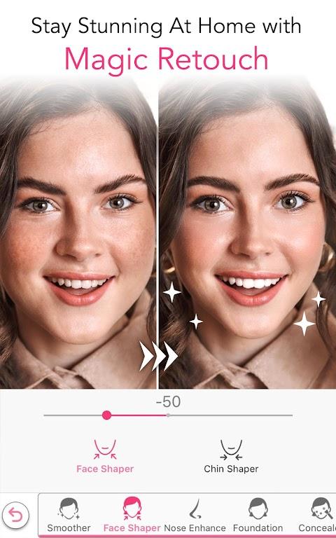 YouCam Makeup-Magic Selfie Cam & Virtual Makeovers  poster 6